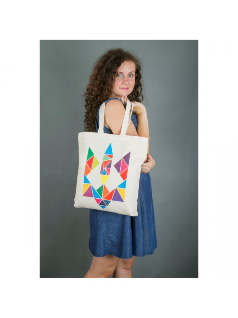 "Еко-сумка ""Тризуб"" #1021501"