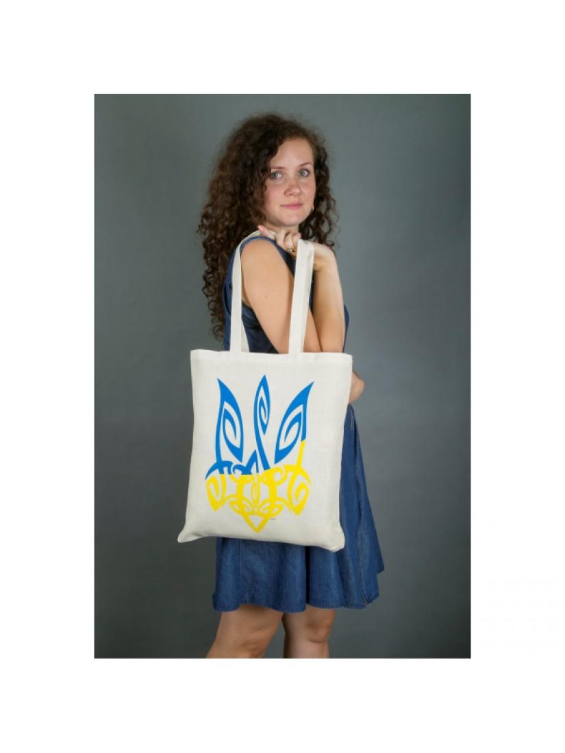 "Еко-сумка ""Тризуб"" #1021506"