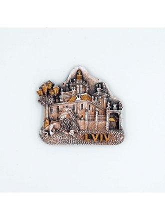 """Керамічний магніт """"Церква святого Юра"""" #101080527"""