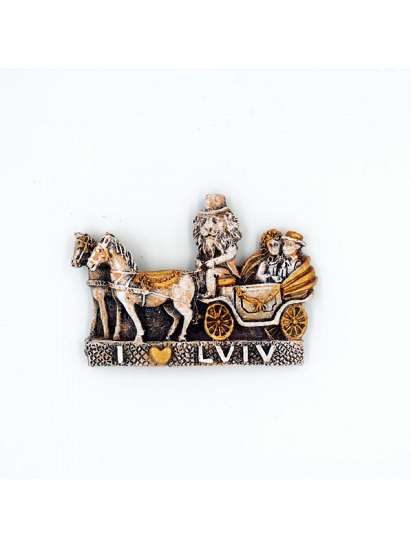 """Керамічний магніт """"Lviv"""" #101080505"""