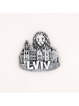 """Керамічний магніт """"Lviv"""" #101080529"""
