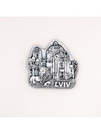 """Керамічний магніт """"Домініканський собор"""" #101080544"""