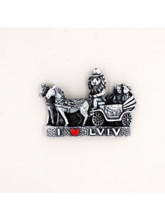 """Керамічний магніт """"LVIV"""" #101080506"""