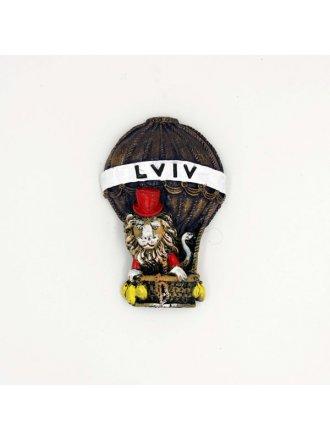 """Керамічний магніт """"Lviv"""" #101080513"""