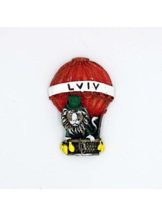 """Керамічний магніт """"Lviv"""" #101080514"""