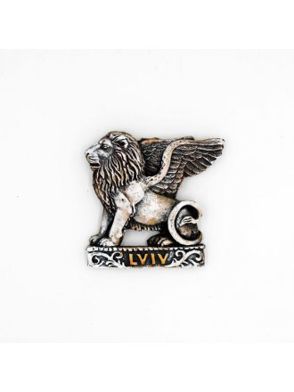 """Керамічний магніт """"Лев - Lviv"""" #101080519"""