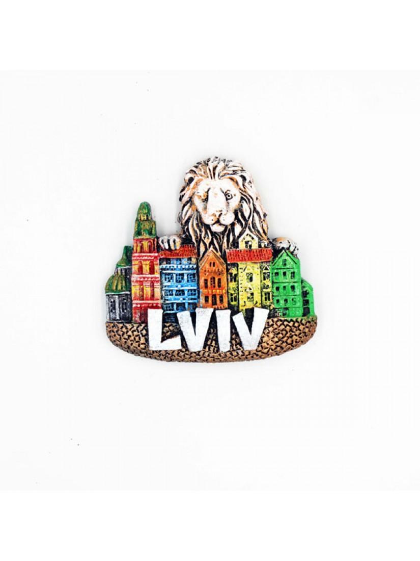 """Керамічний магніт """"Lviv"""" #101080508"""