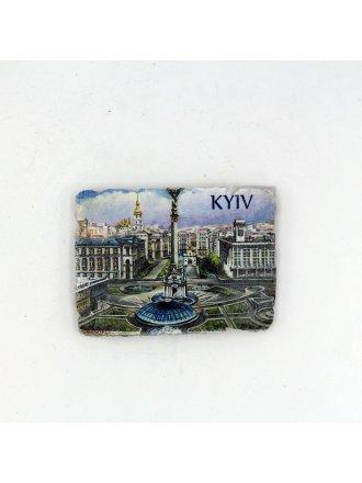 """Фотокерамічний магніт  """"Майдан Незалежност""""і #103080801"""