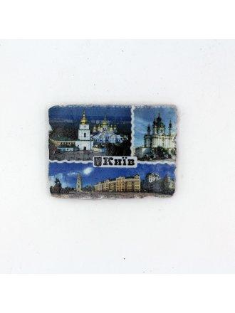 """Фотокерамічний магніт  """"Коллаж Київ"""" #103080806"""