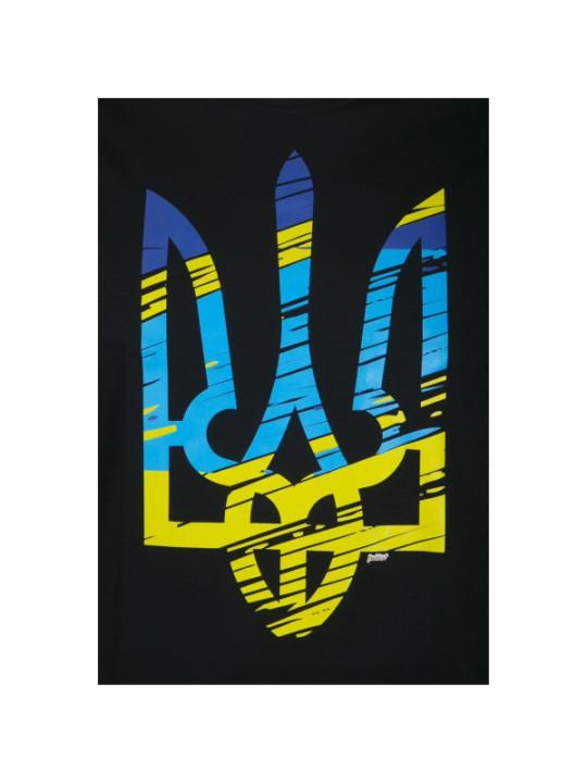 """Футболка чоловіча """"Тризуб Жовто-Блакитний"""" #102190209"""
