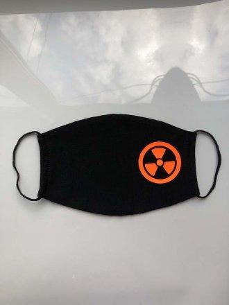 """Захисна маска для лиця """"Радіація"""" #102 22 03 07"""