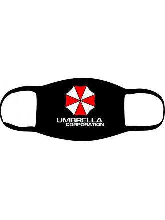 "Багаторазова маска з принтом ""Umbrella Corporation"" #102 22 15"