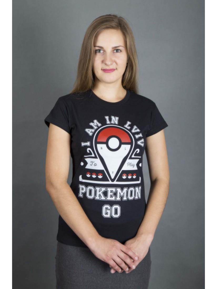 """Футболка жіноча   """"POKEMON"""" #102190103"""
