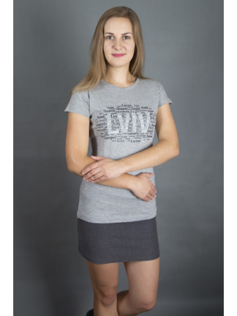 """Футболка жіноча  """"LEMBERG"""" #101190105"""
