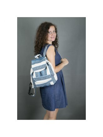 Рюкзак блакитний #1021102