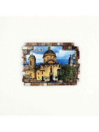 """Фотокерамічний магніт  """"Домініканський собор"""" #101080824"""