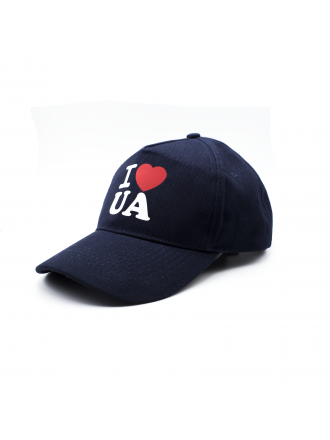 "Бейсболка ""I love UA""#1022002"
