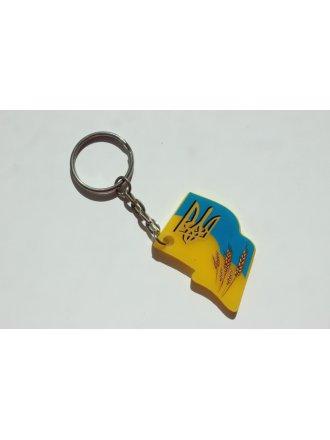 "Брелок акриловий ""Прапор України"" #1020413"
